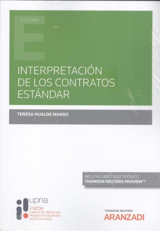 Interpretación de los contratos estándar