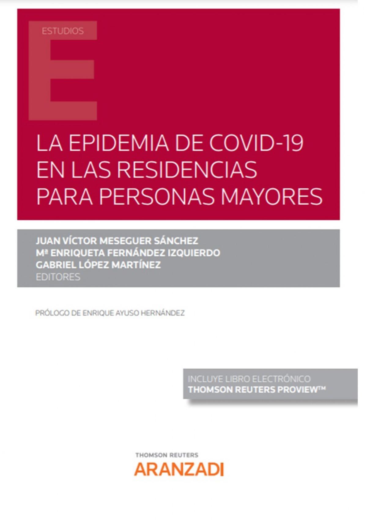 La epidemia de COVID-19 en las residencias para personas mayores (Papel + e-book)