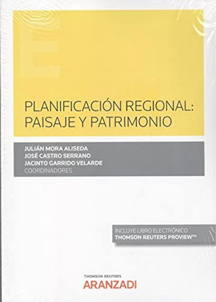 PLANIFICACION REGIONAL PAISAJE Y PATRIMONIO