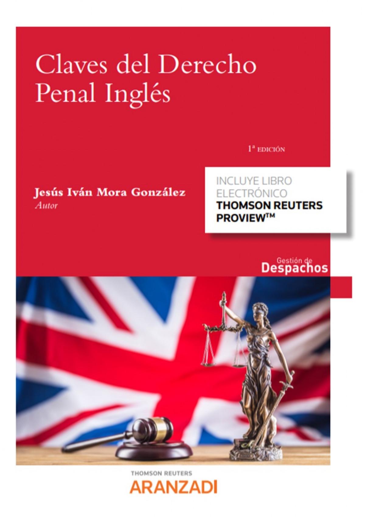 Claves del Derecho Penal Inglés (Papel + e-book)