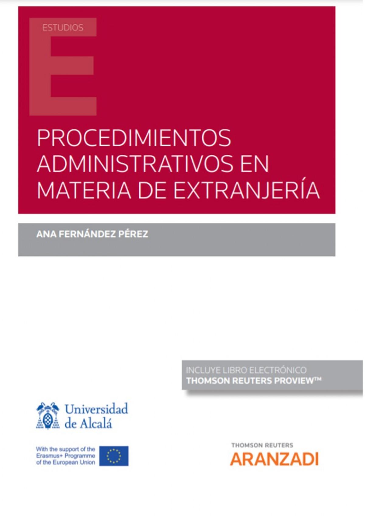 Procedimientos administrativos en materia de extranjería (Papel + e-book)