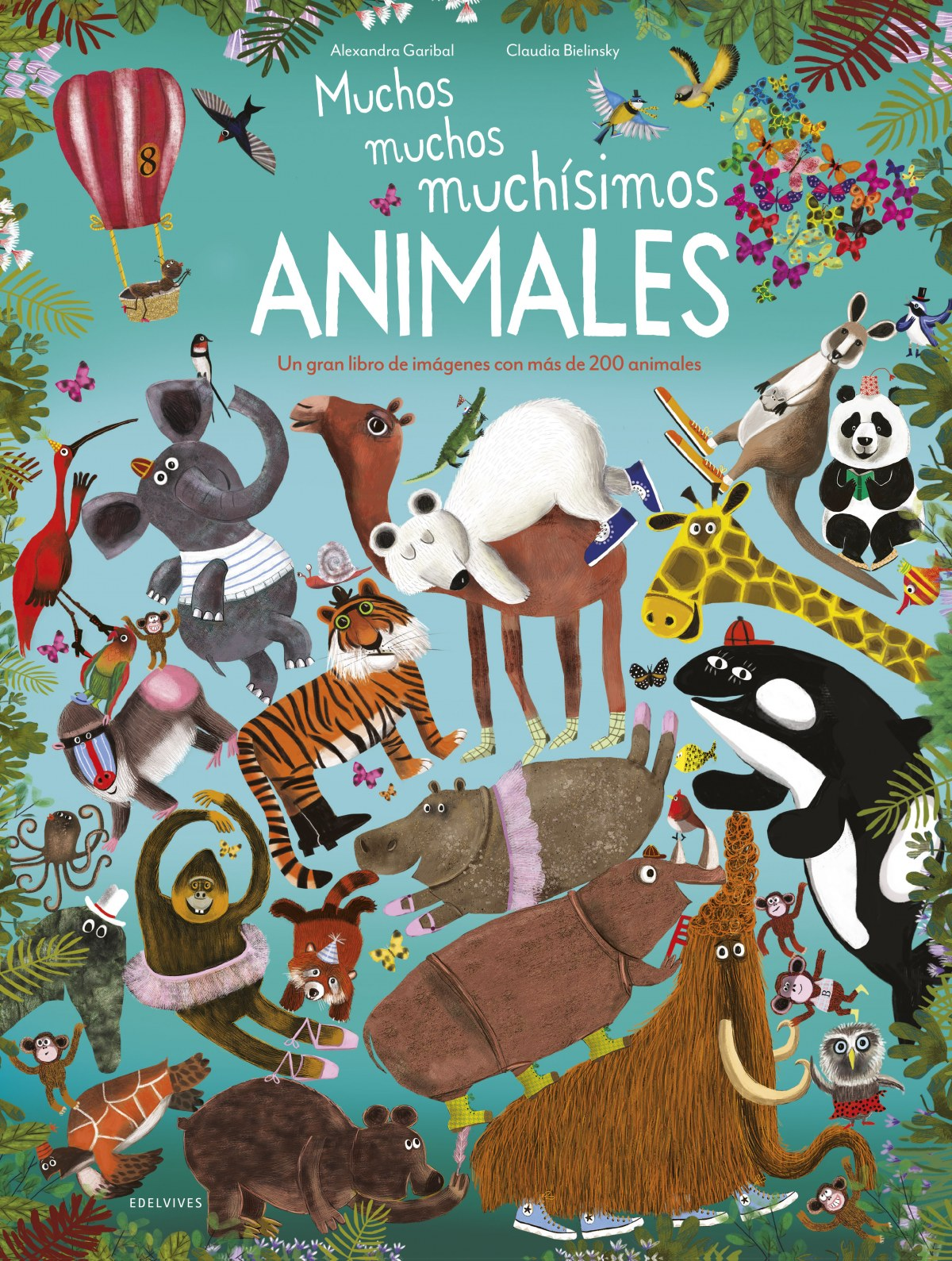 MUCHOS, MUCHOS, MUCH-SIMOS ANIMALES 9788414024386