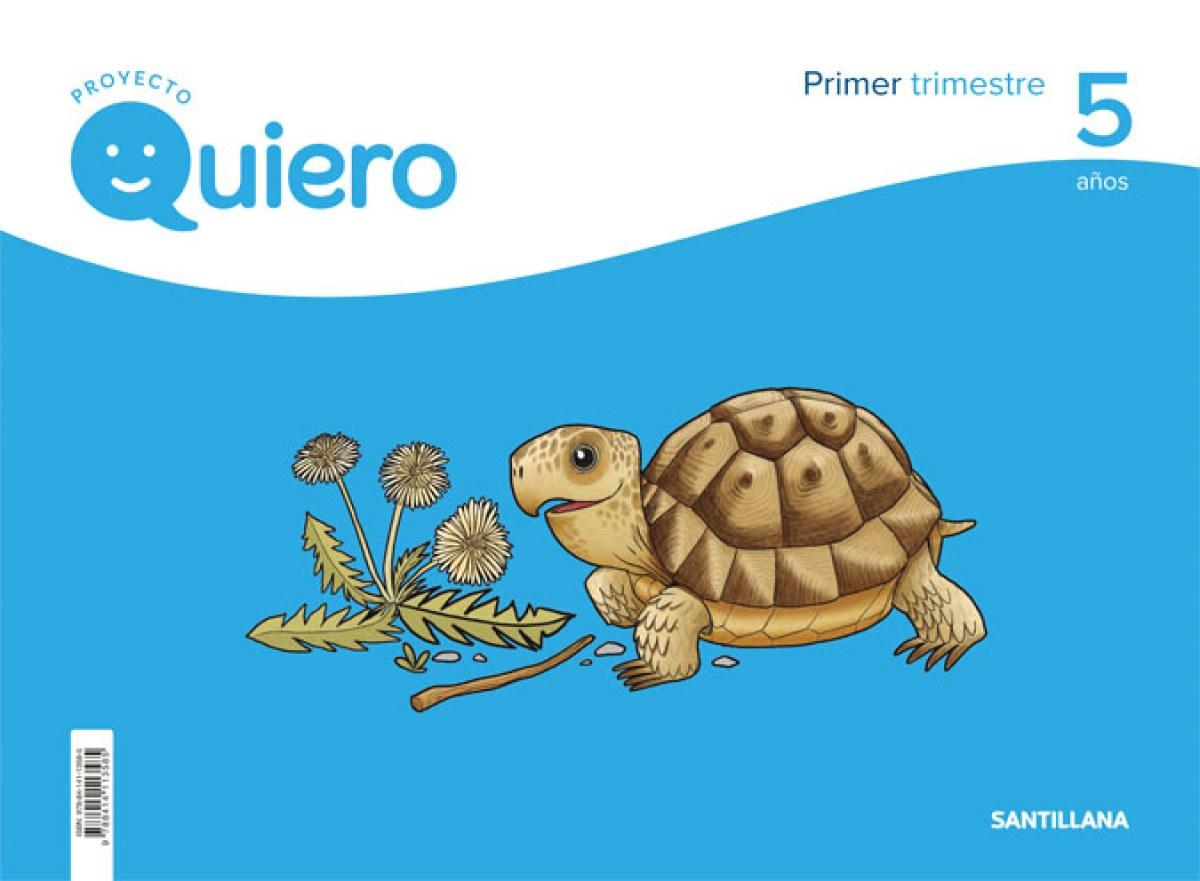 PROYECTO QUIERO 5 AñOS 1o.TRIMESTRE 9788414113585