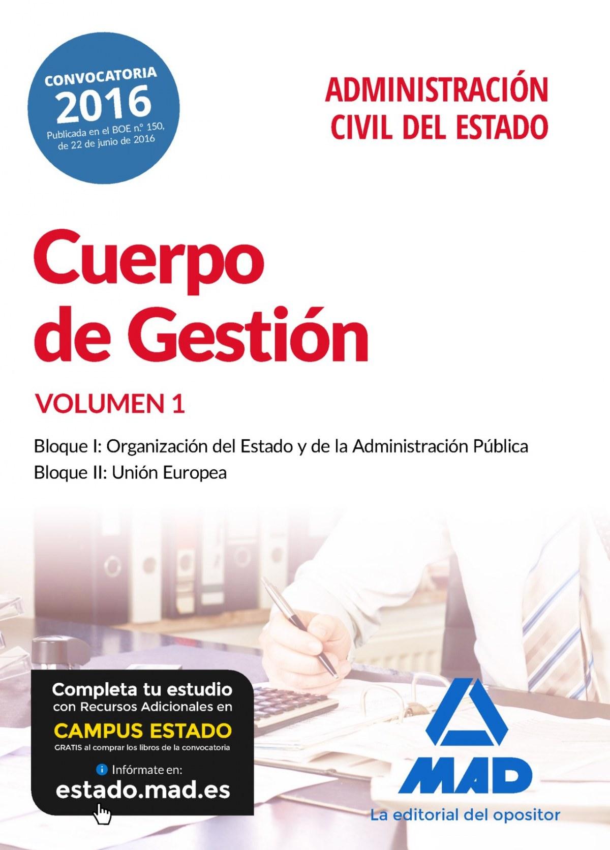 CUERPO DE GESTIÓN DE LA ADMINISTRACIÓN CIVIL DEL ESTADO