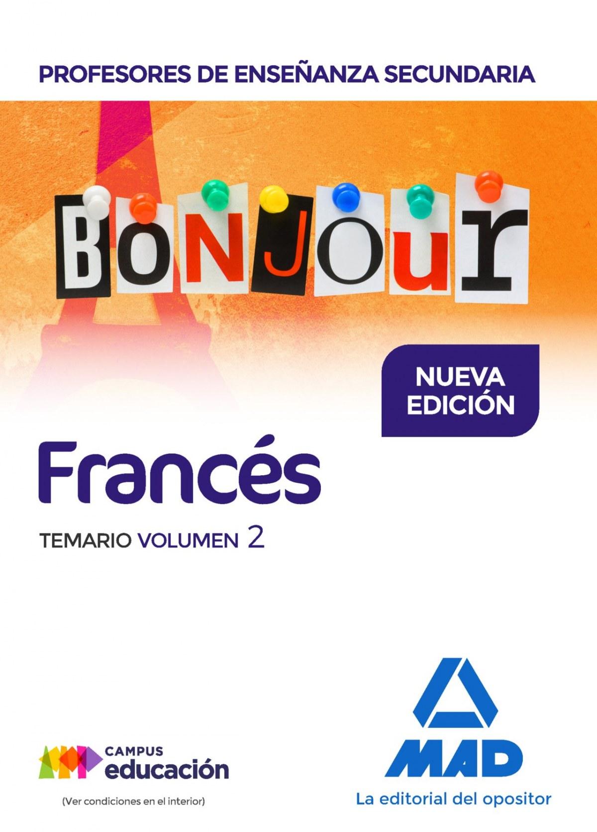 PROFESORES DE ENSEÑANZA SECUNDARIA FRANCES BONJOUR