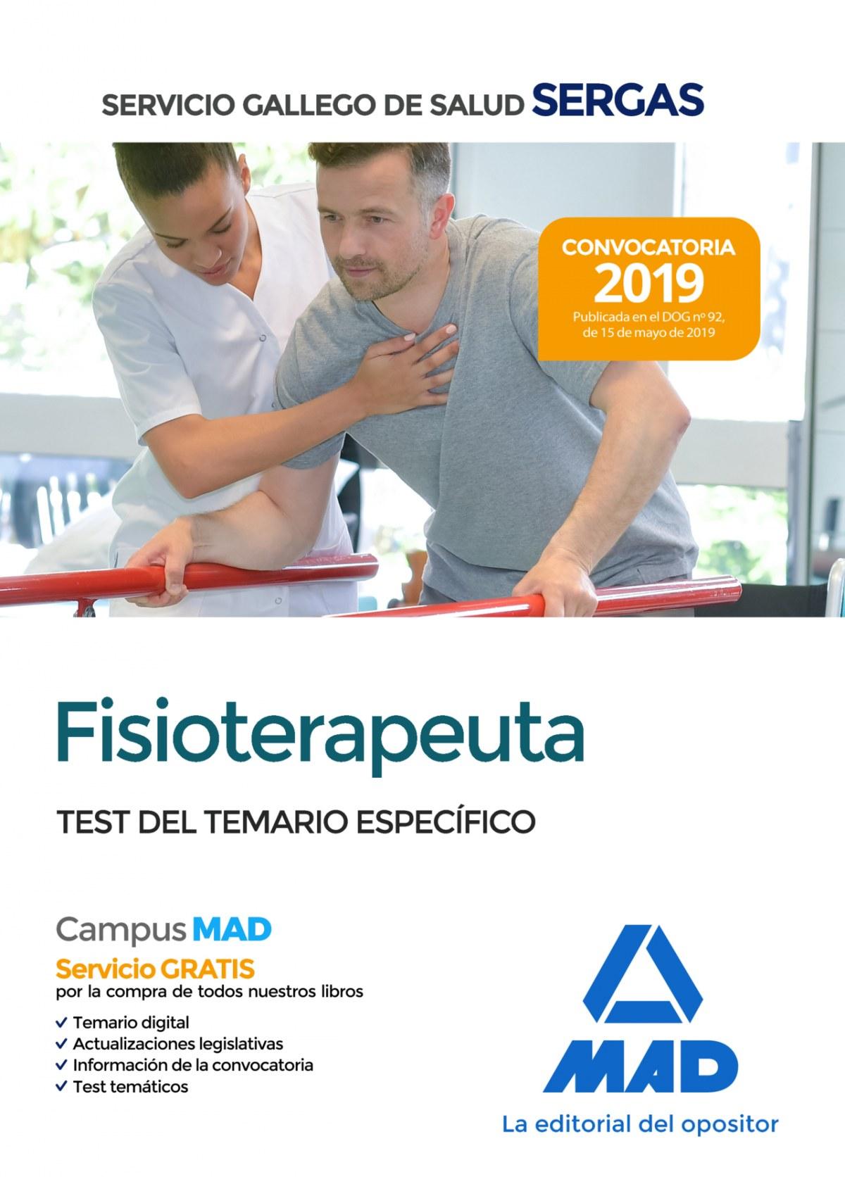 FISIOTERAPEUTA DEL SERVICIO GALLEGO DE SALUD