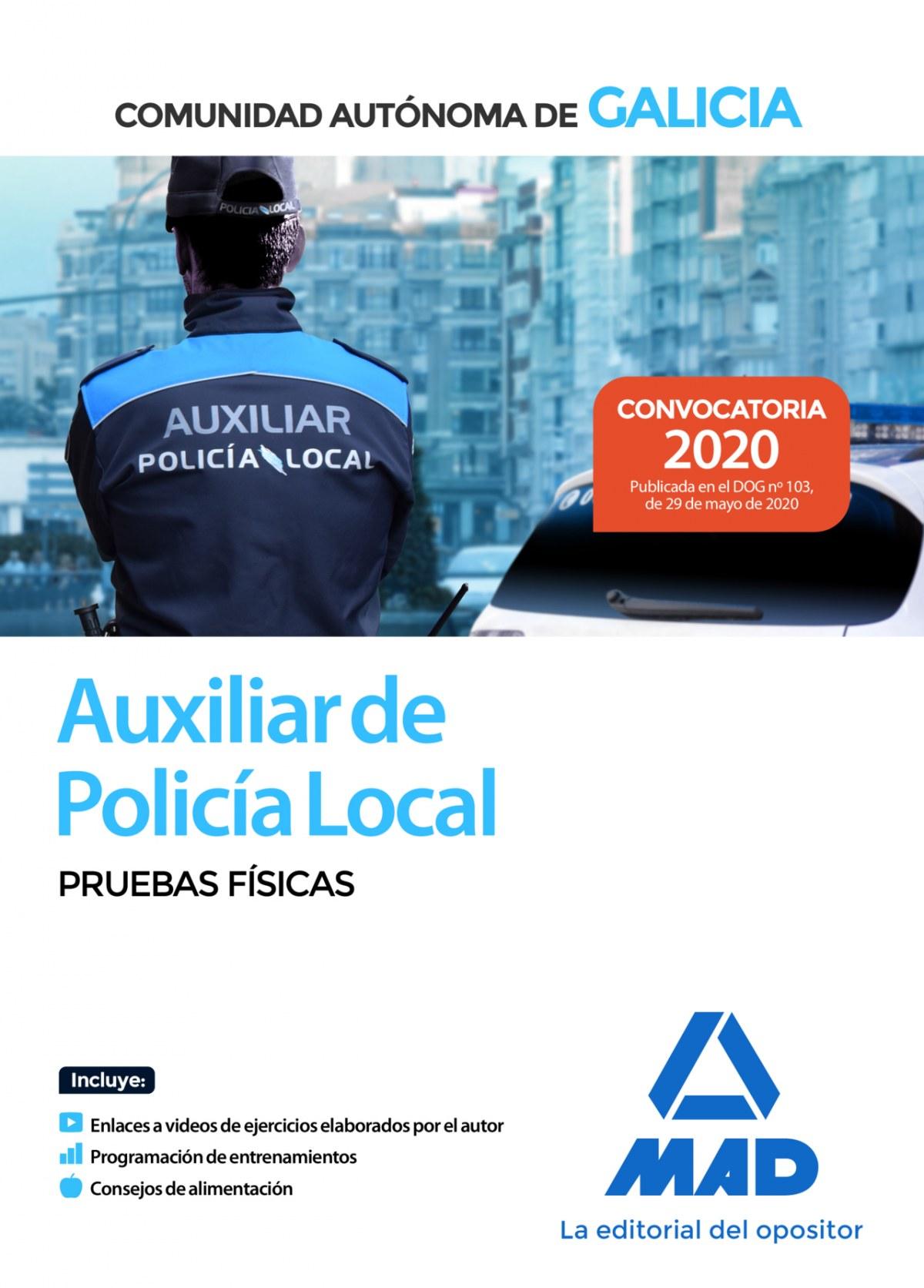 Auxiliar de Polic¡a Local de Galicia. Pruebas f¡sicas.