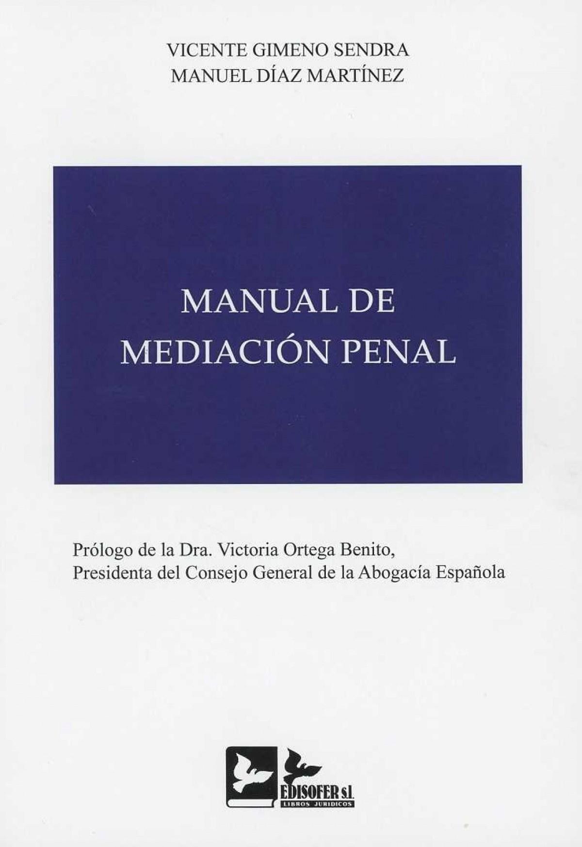 MANUAL DE MEDIACION PENAL