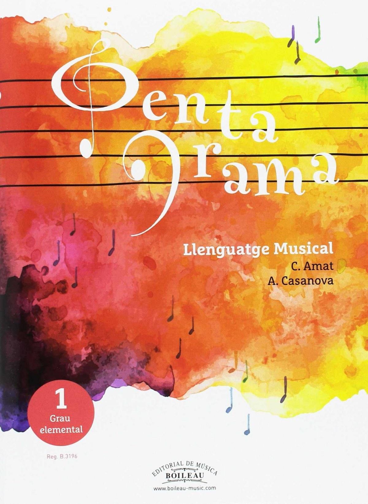 Llenguatge musical pentagrama +cd