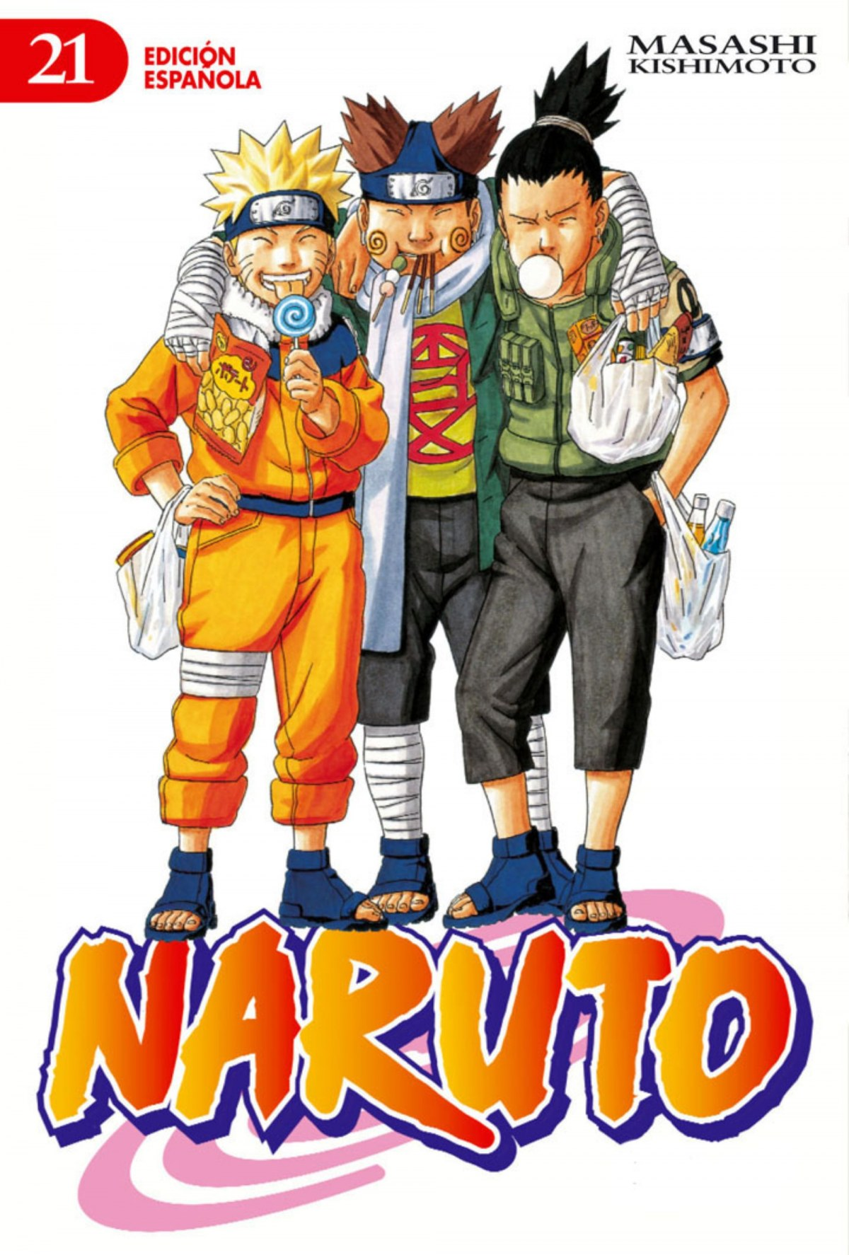 Naruto nº 21/72