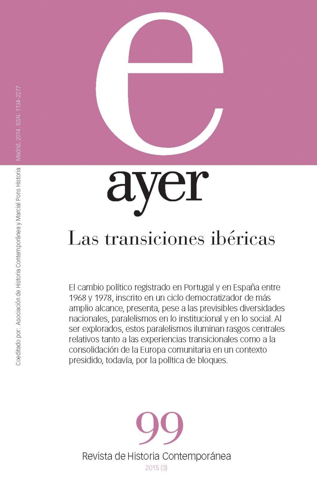 TRANSICIONES IBÉRICAS, LAS (Ayer 99)