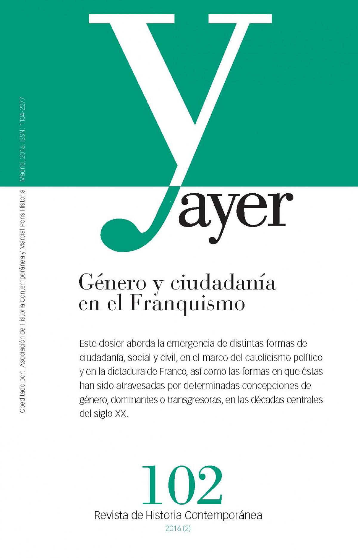 GÉNERO Y CIUDADANÍA EN EL FRANQUISMO