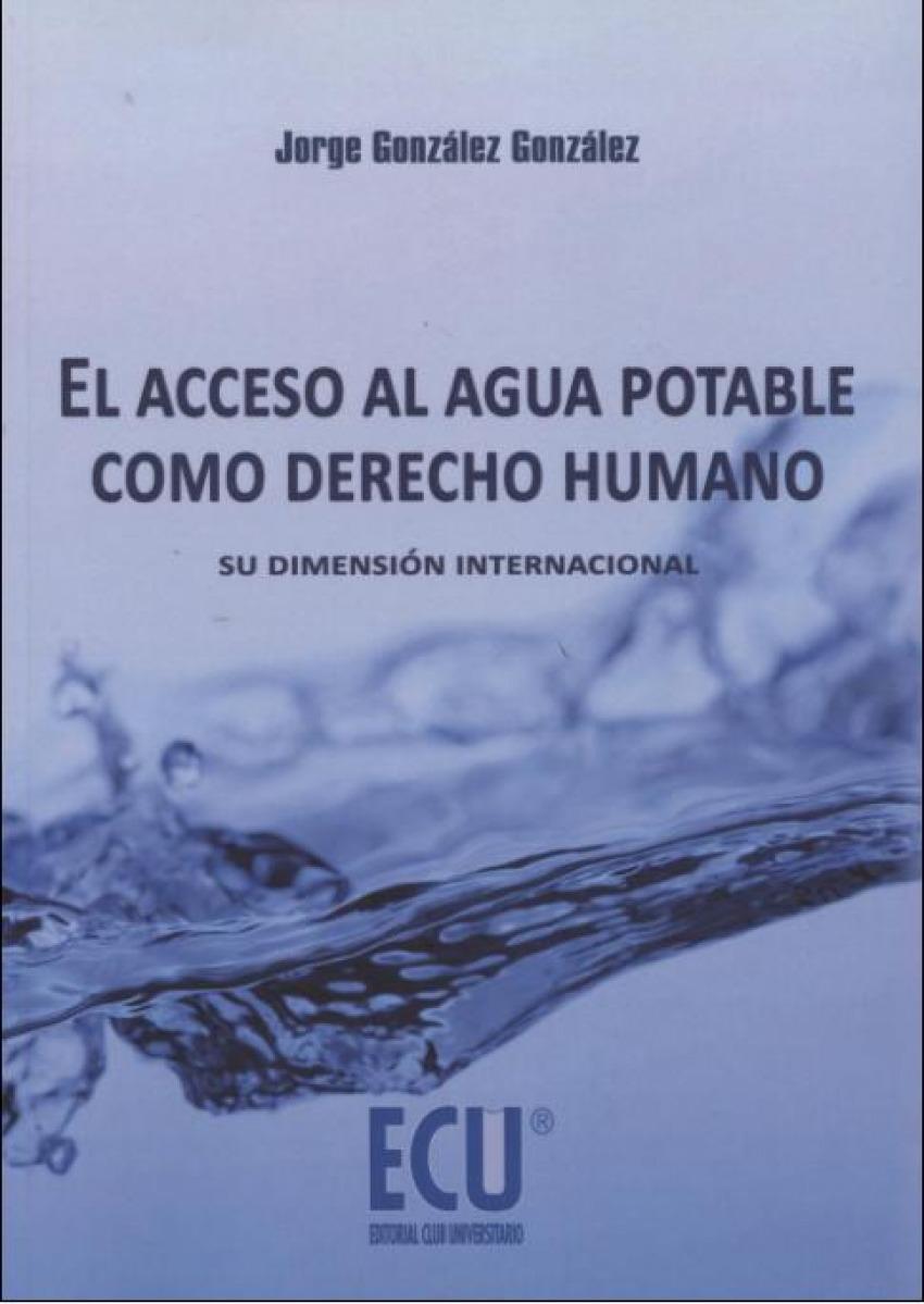 El acceso al agua potable como derecho humano