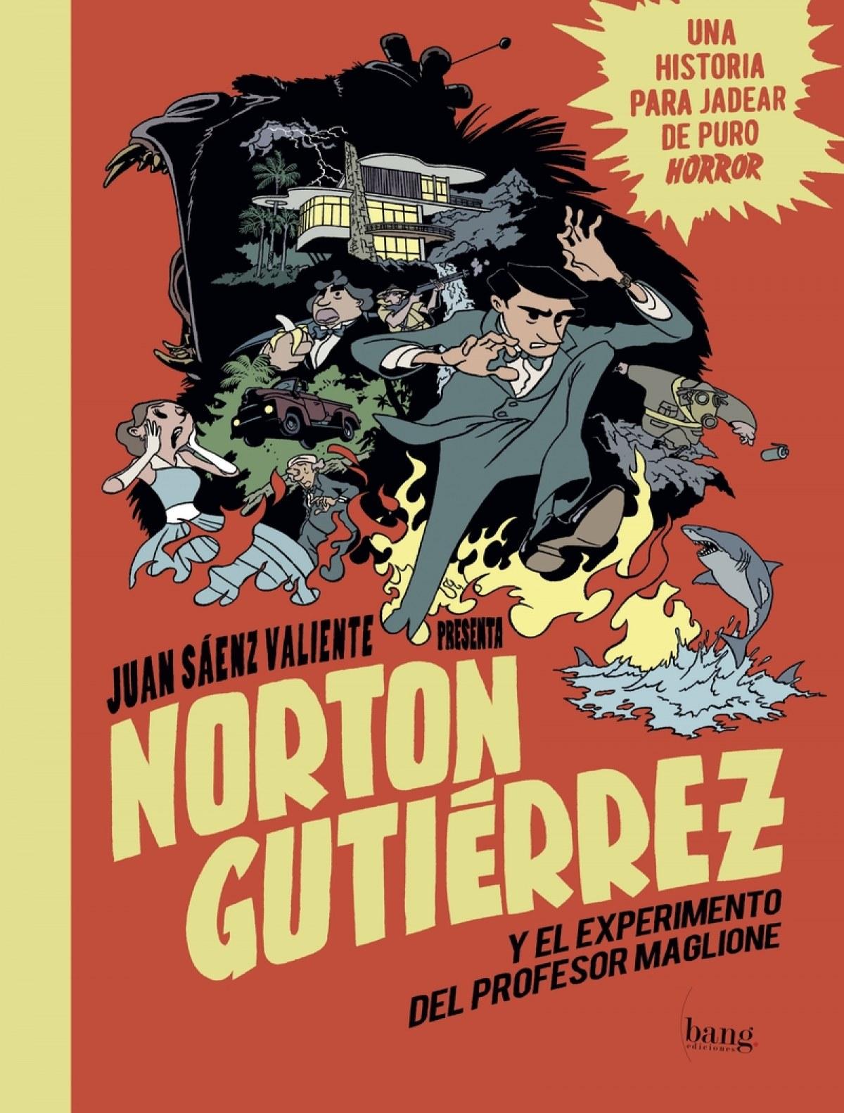 NORTON GUTIÈRREZ Y EL EXPERIMENTO DEL PROFESOR MAGLIONE