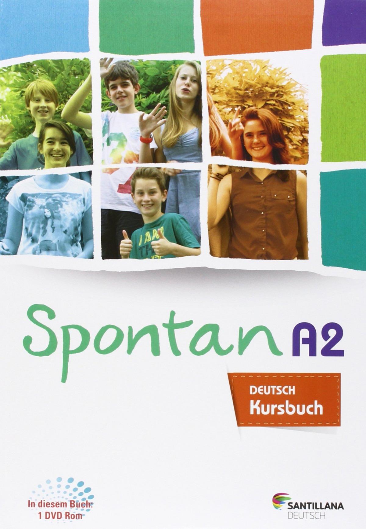 Spontan A2-B1 Kursbuch+Arbeitsheft+dvd rom