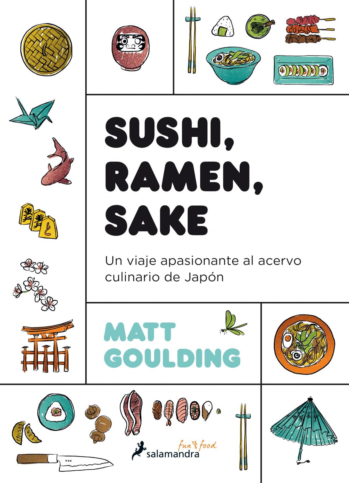 Sushi, ramen, sake; otro libro para acercarse a la cultura japonesa por su gastronomía
