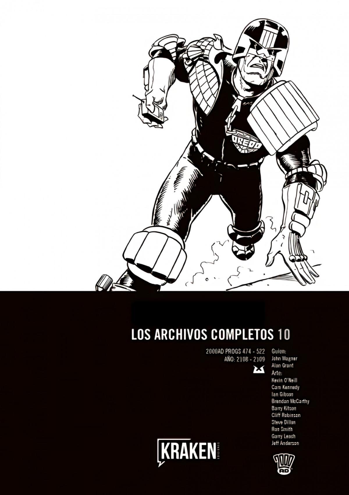 Juez Dredd. Los archivos completos 10