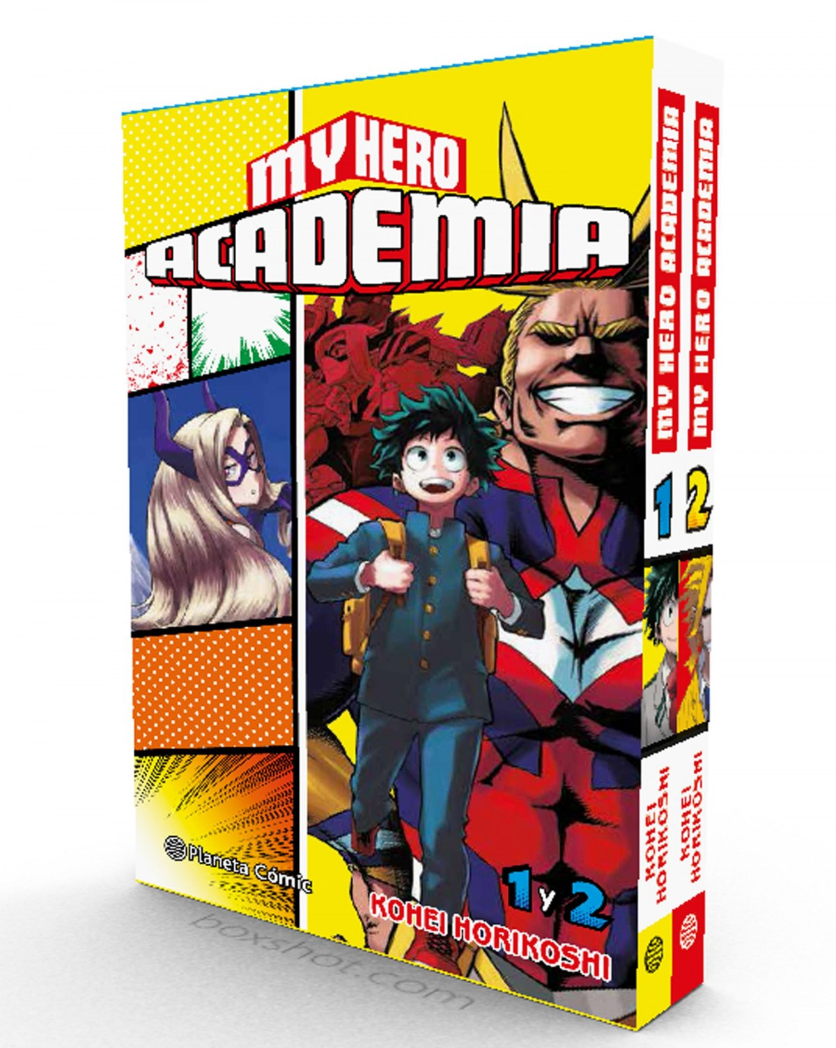 pack my hero academia 1+2