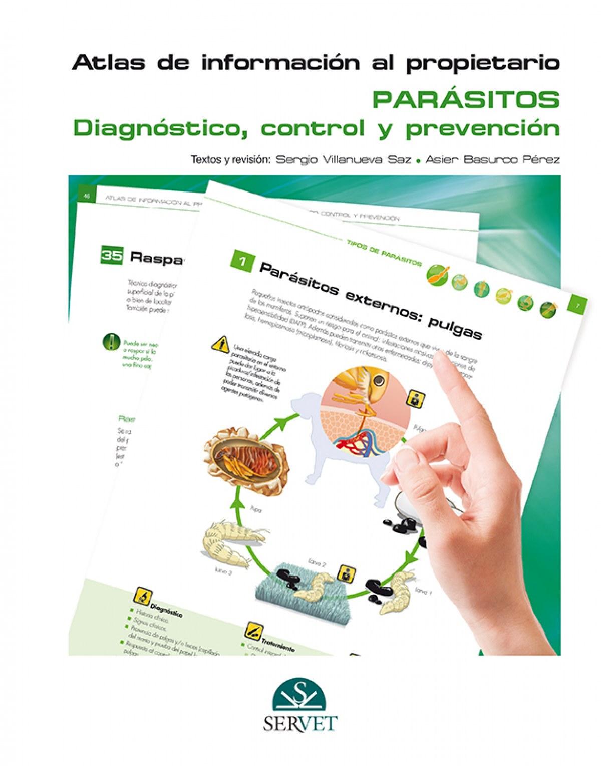 Atlas de información al propietario. Parásitos. Diagnóstico, control y prevención