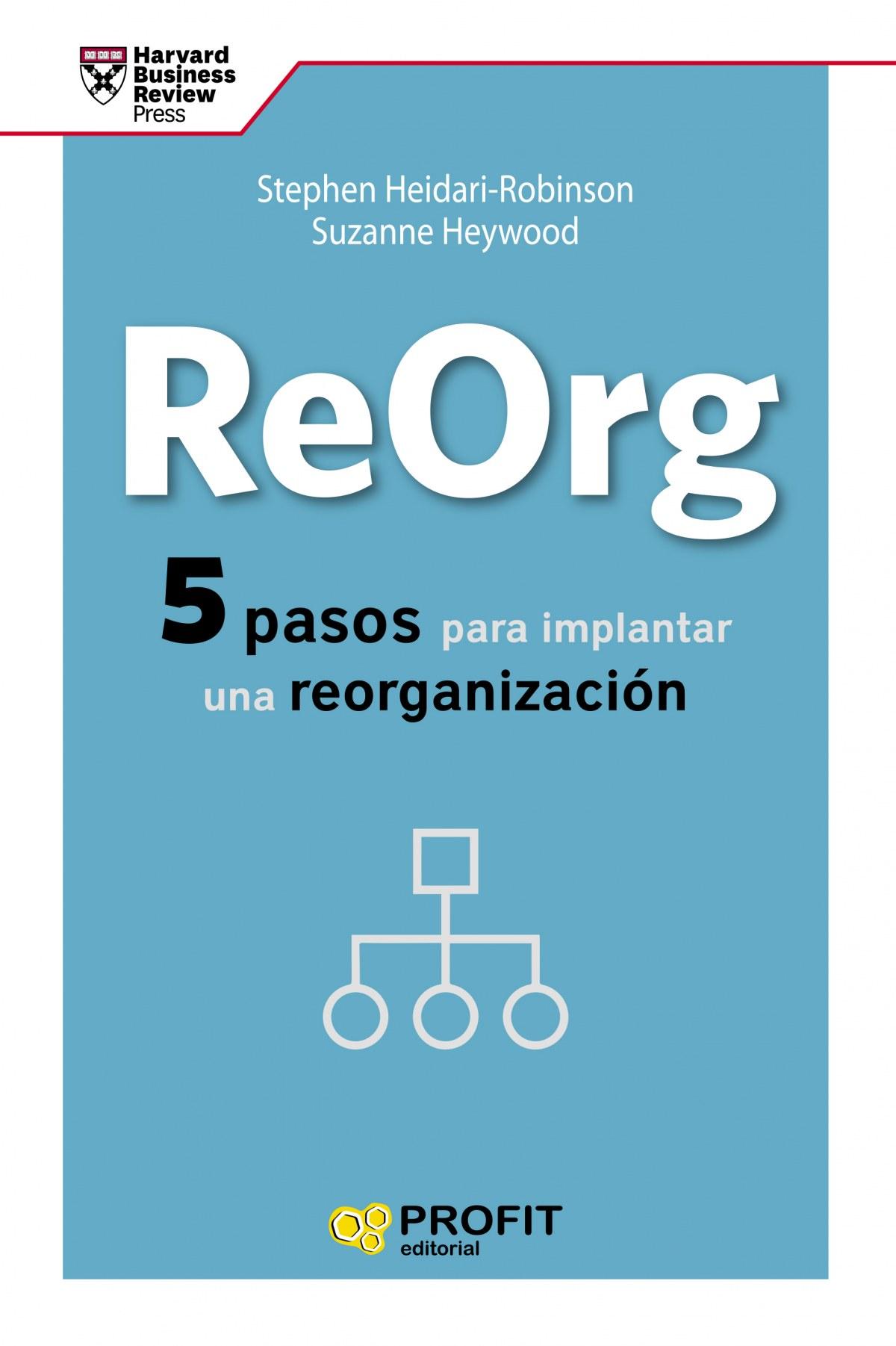 REORG 5 PASOS PARA IMPLANTAR UNA REORGANIZACION