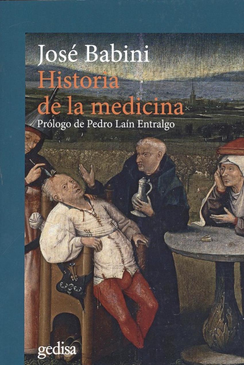 HISTORIA DE LA MEDICINA 9788416919727