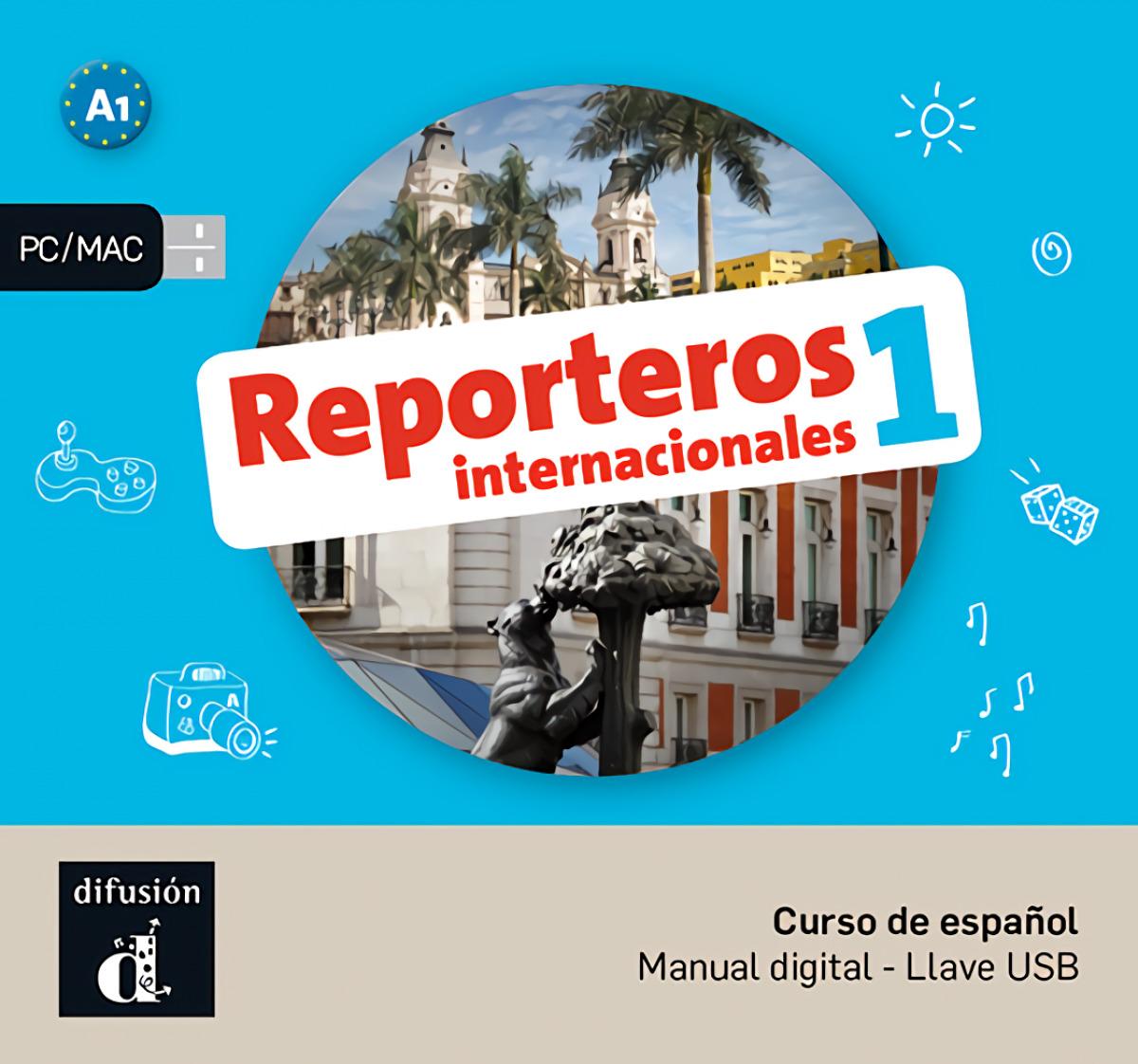 Reporteros Internacionales 1 USB