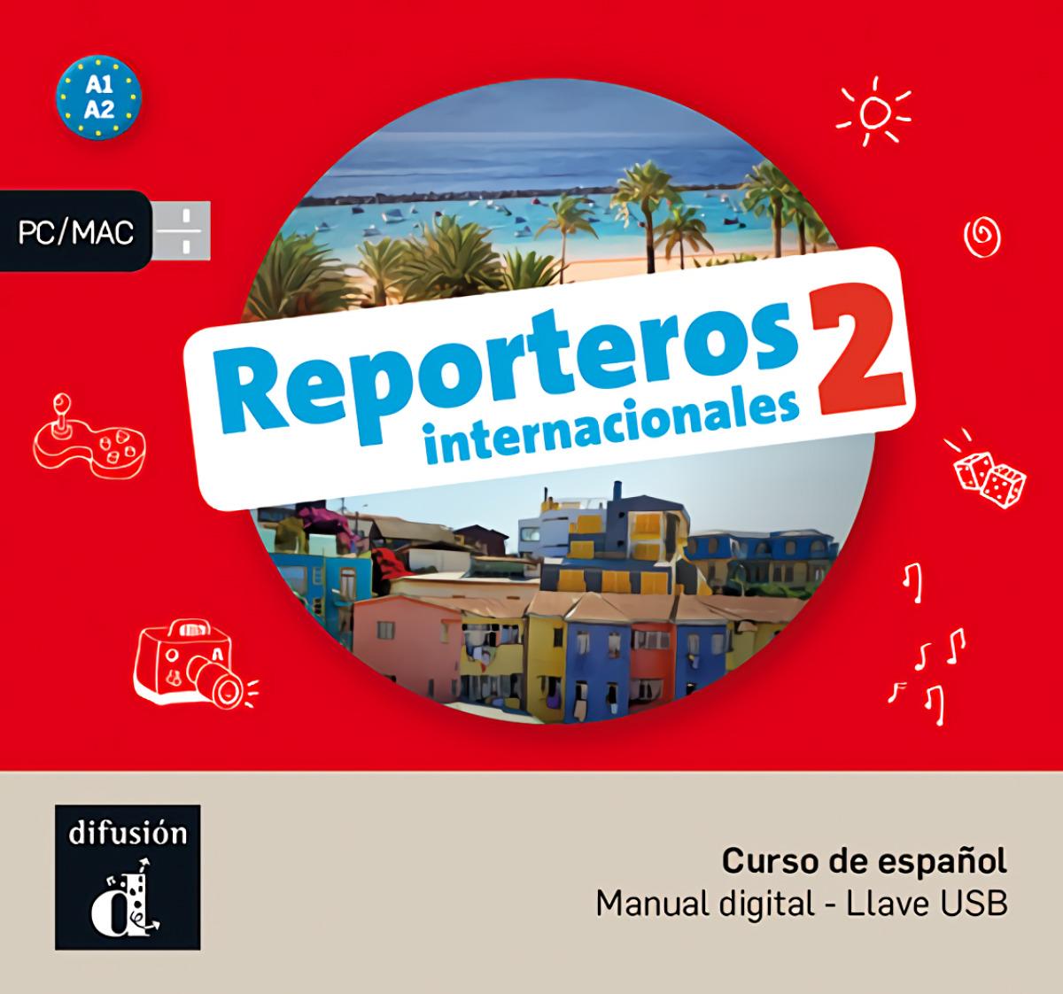 Reporteros Internacionales 2 USB