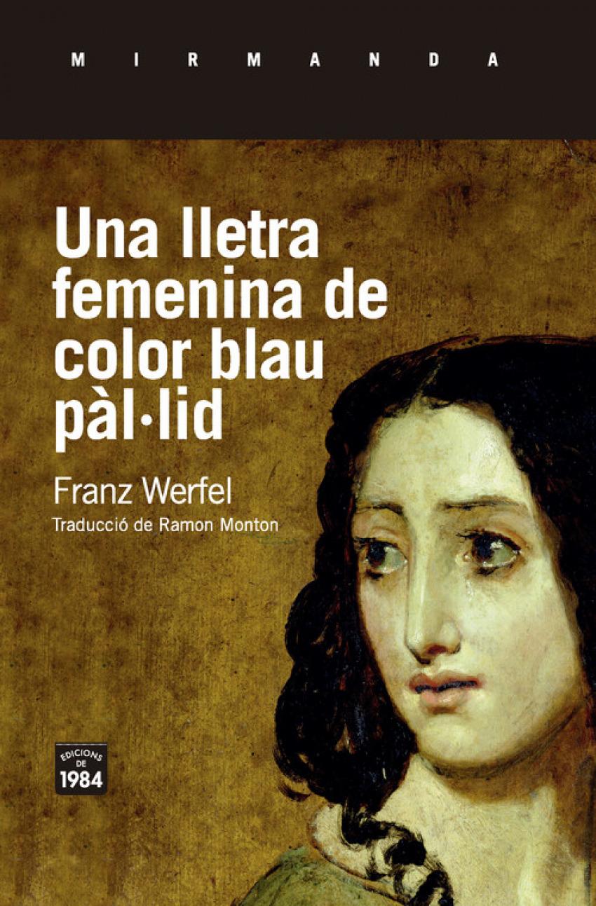 UNA LLETRA FEMENINA DE COLOR BLAU PAL.LID