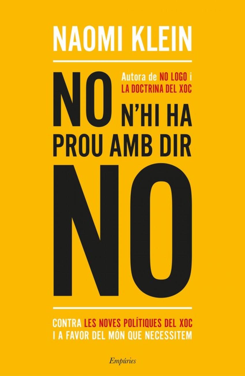 NO H´HI HA PROU AMB DIR NO