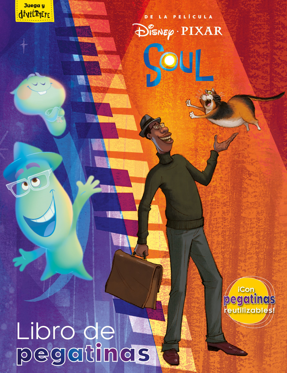 Soul. Libro de pegatinas