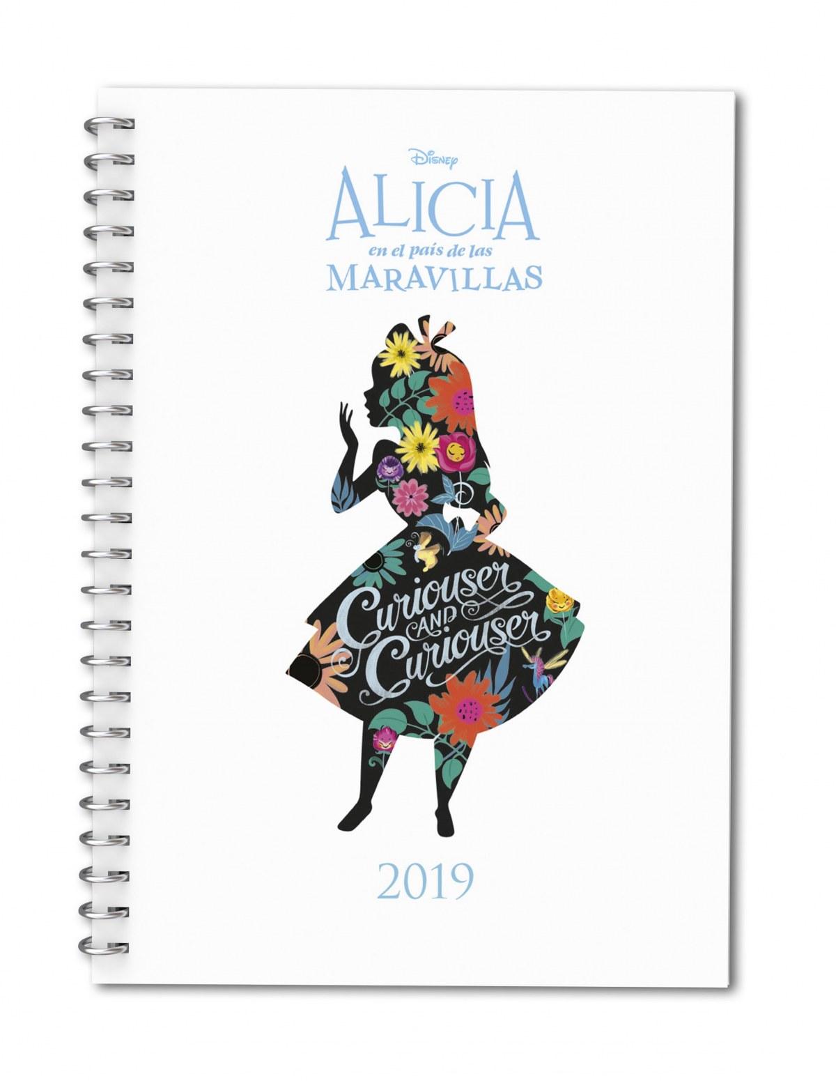 AGENDA DISNEY 2019 ALICIA EN EL PAÍS DE LAS MARAVILLAS