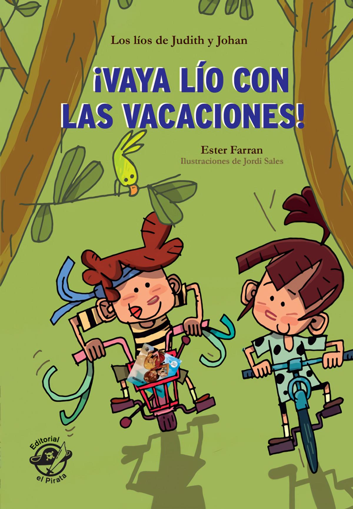 ¡Vaya lío con las vacaciones!- Libro con mucho humor para niños de