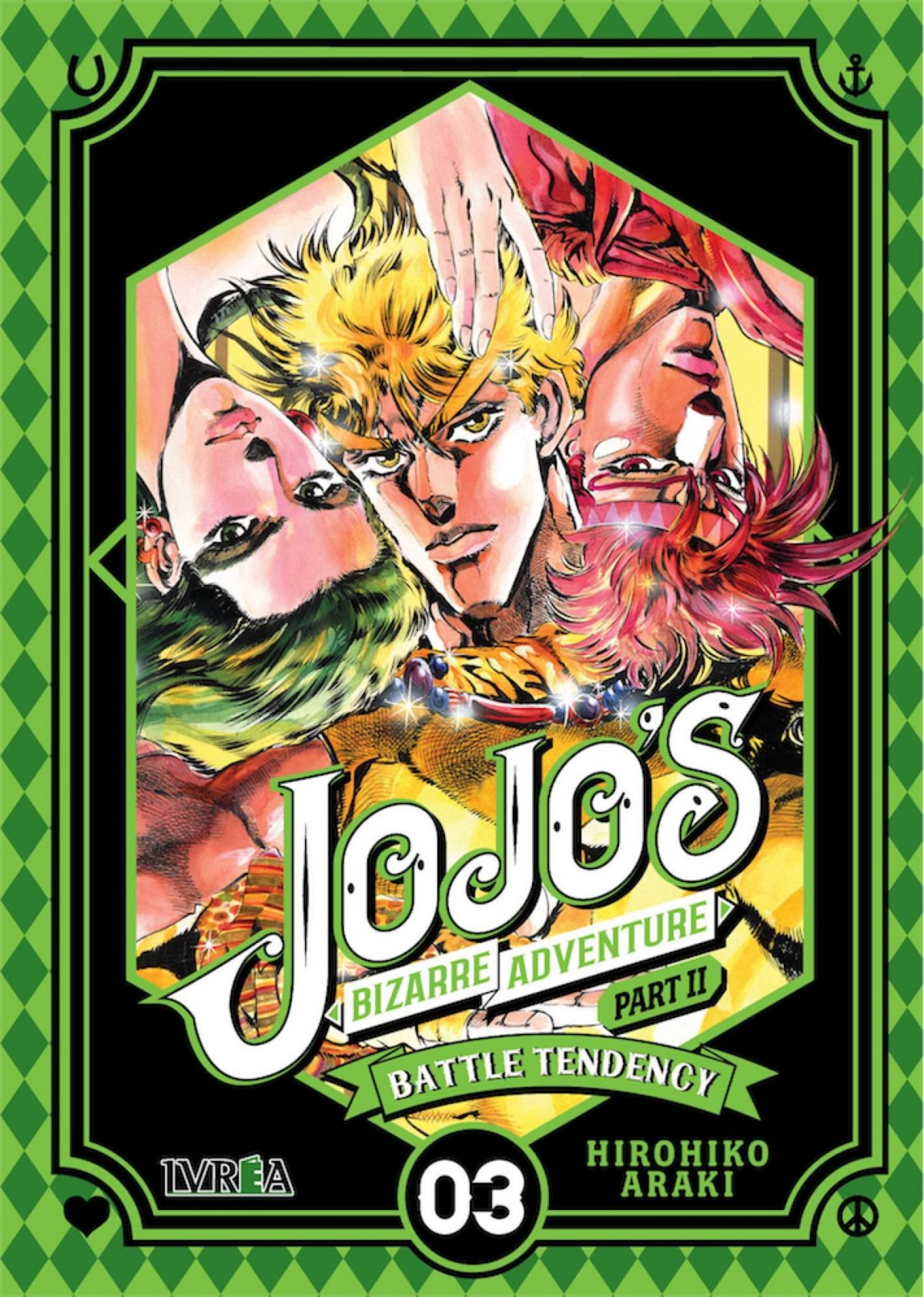 JOJO'S BIZARRE ADVENTURE 05 BATTLE TENDENCY 03