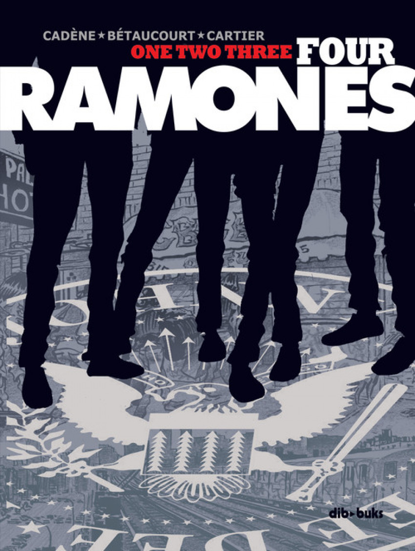 ONE TWO THREE FOUR RAMONES 9788417294250