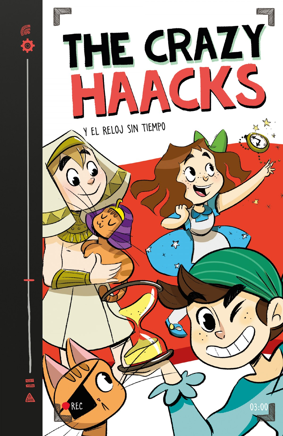 THE CRAZY HAACKS Y EL RELOJ SIN TIEMPO 9788417460747