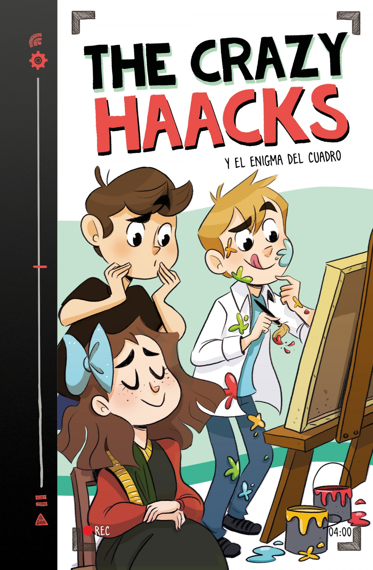 THE CRAZY HAACKS Y EL ENIGMA DEL CUADRO 9788417460884