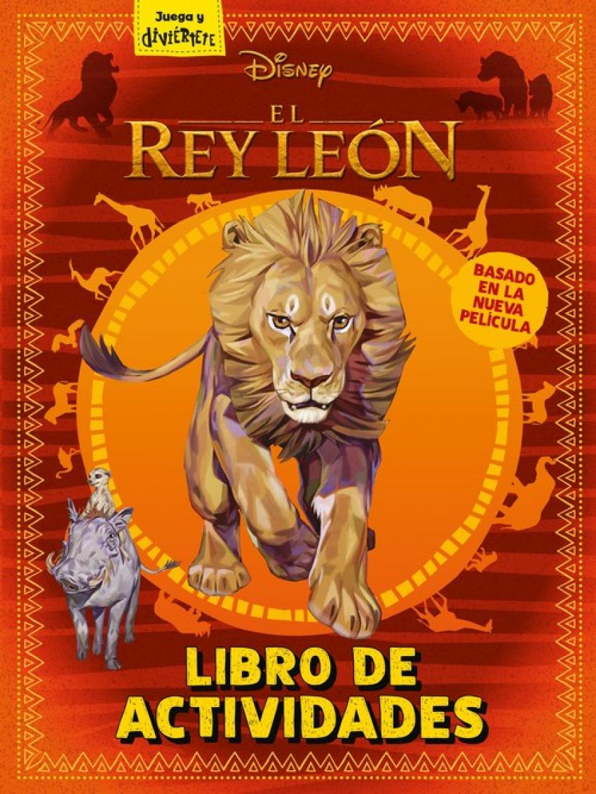 LIBRO DE ACTIVIDADES EL REY LEON