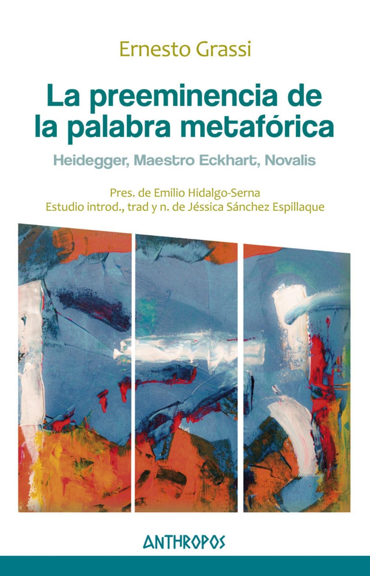 LA PREEMINENCIA DE LA PALABRA METAFÓRICA