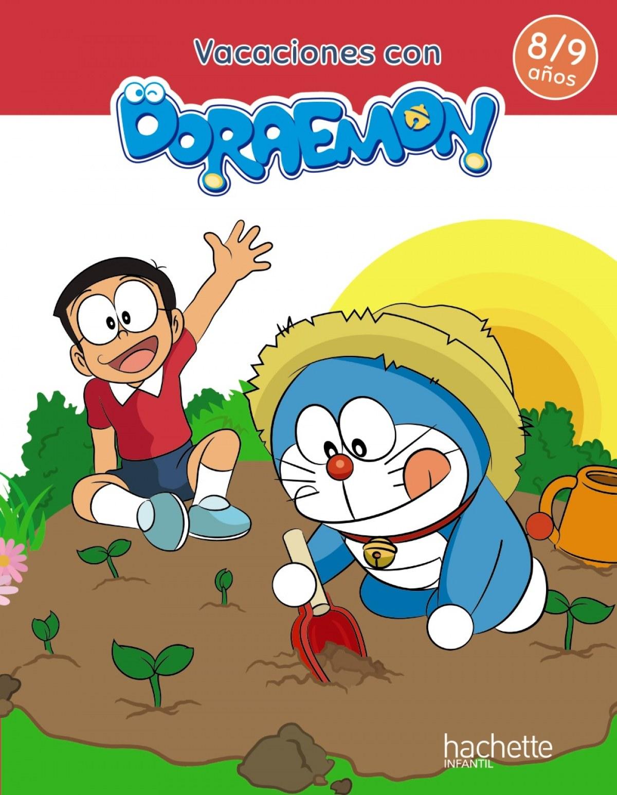 Vacaciones con Doraemon 8-9 años