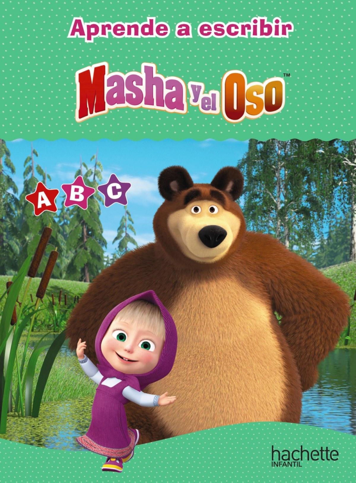 Las letras con Masha y el Oso