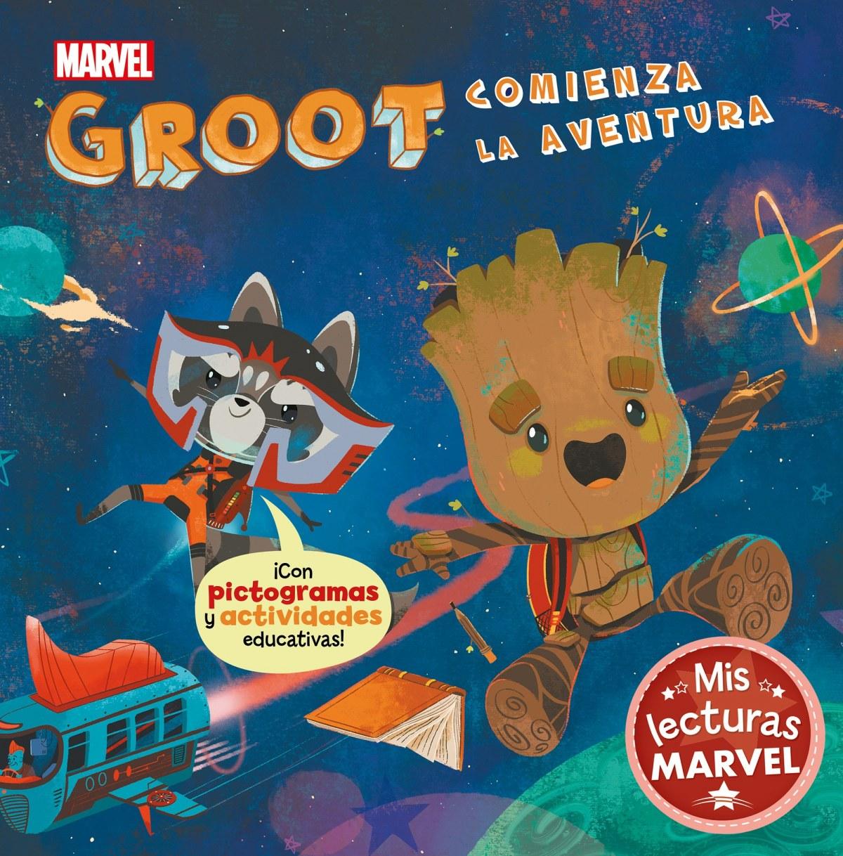 Groot comienza la aventura (Mis lecturas Marvel)