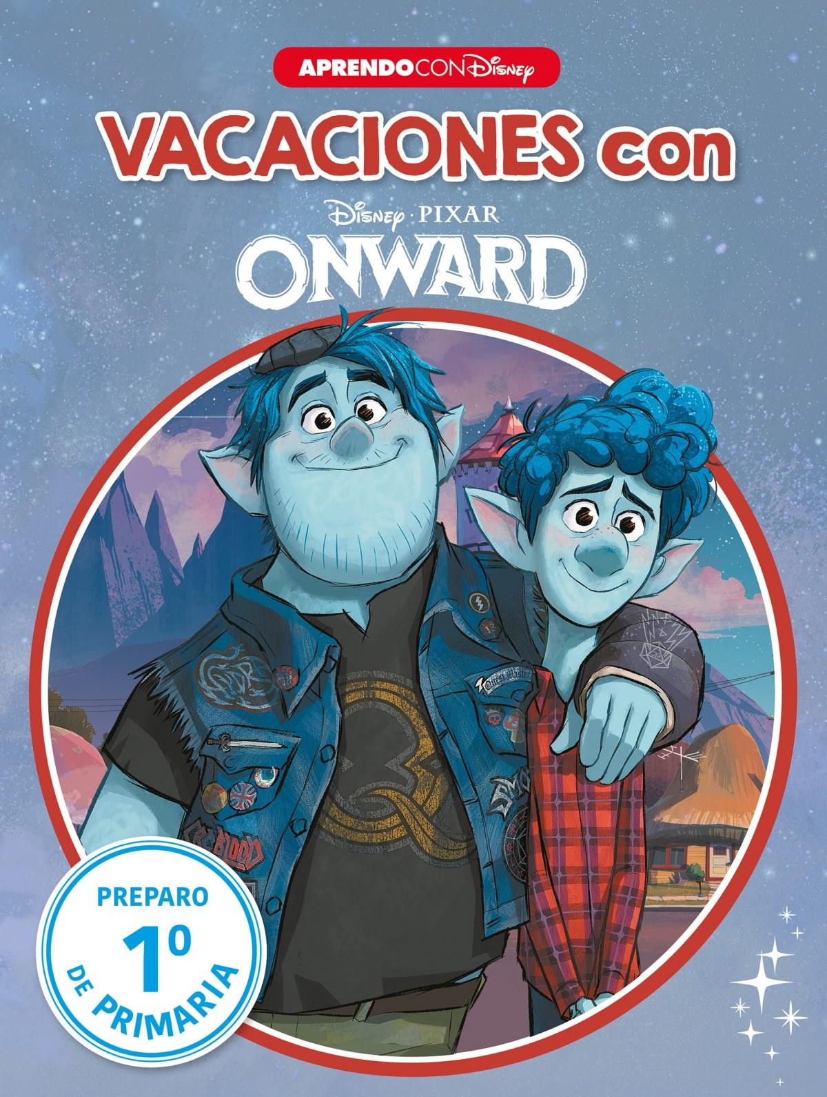 Vacaciones con Onward (Libro educativo Disney con actividades)