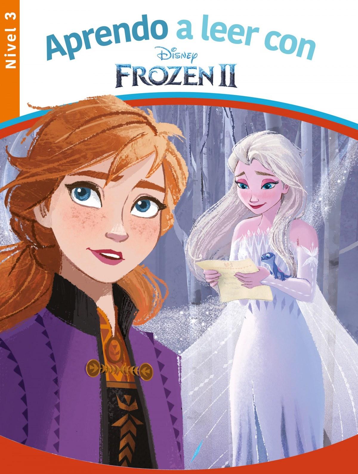 Aprendo a leer con Frozen II - Nivel 3 (Aprendo a leer con Disney