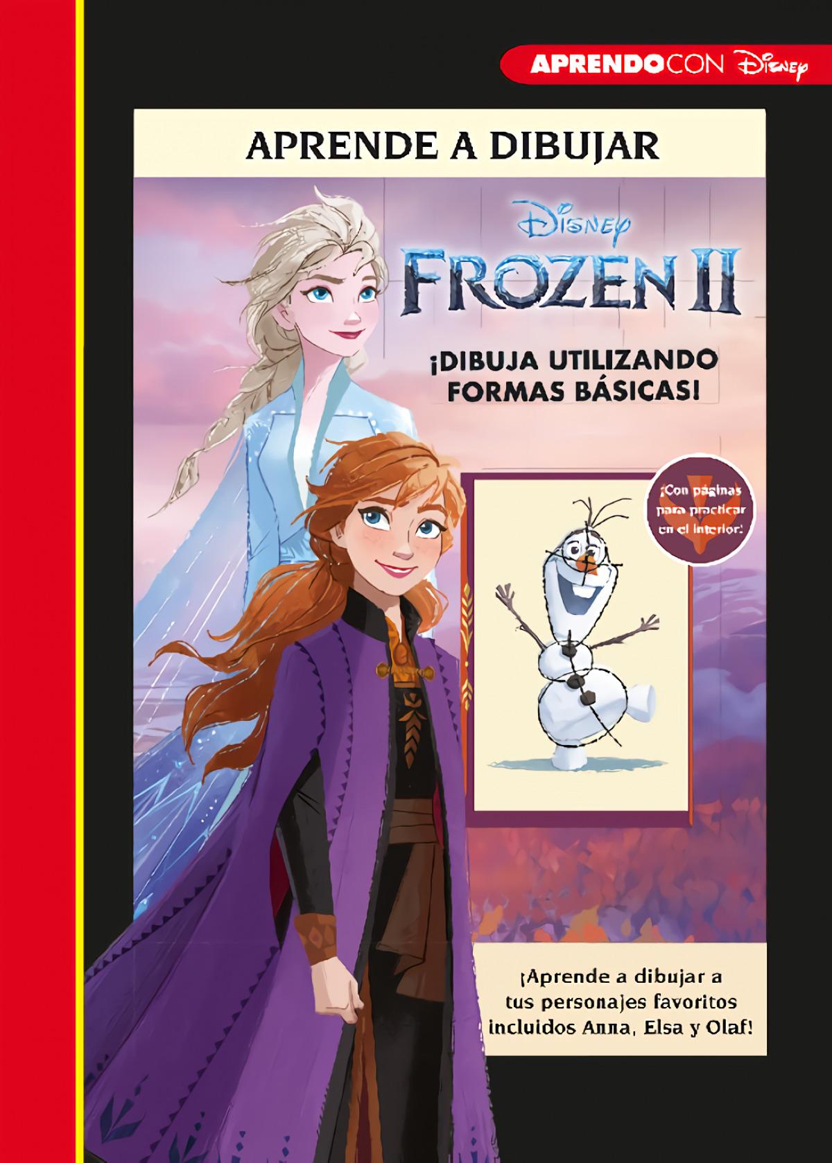 Aprende a dibujar Frozen II (Crea, juega y aprende con Disney)