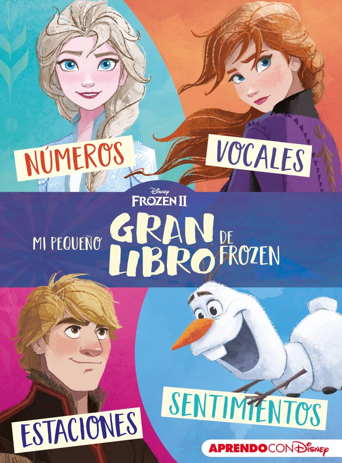 Mi pequeño GRAN libro de Frozen II (Aprendo con Disney)