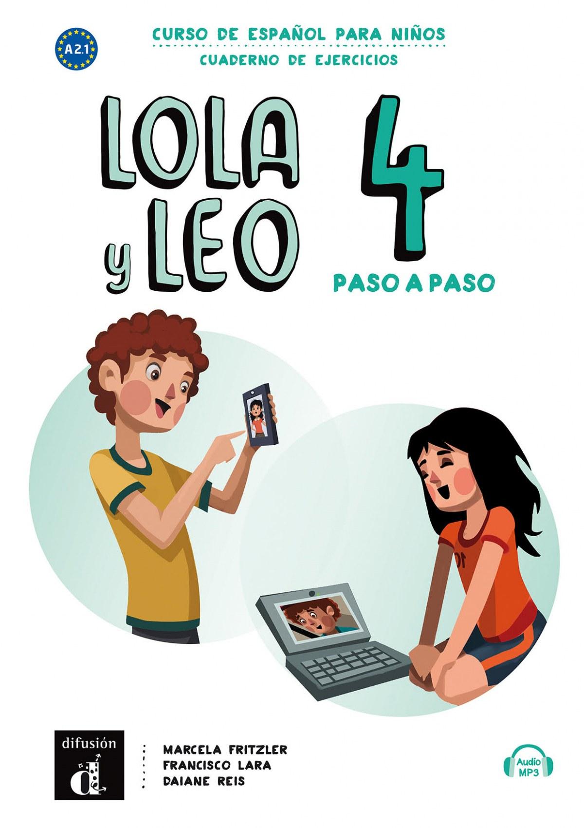Lola y Leo Paso a Paso 4. Cuaderno de Ejercicios