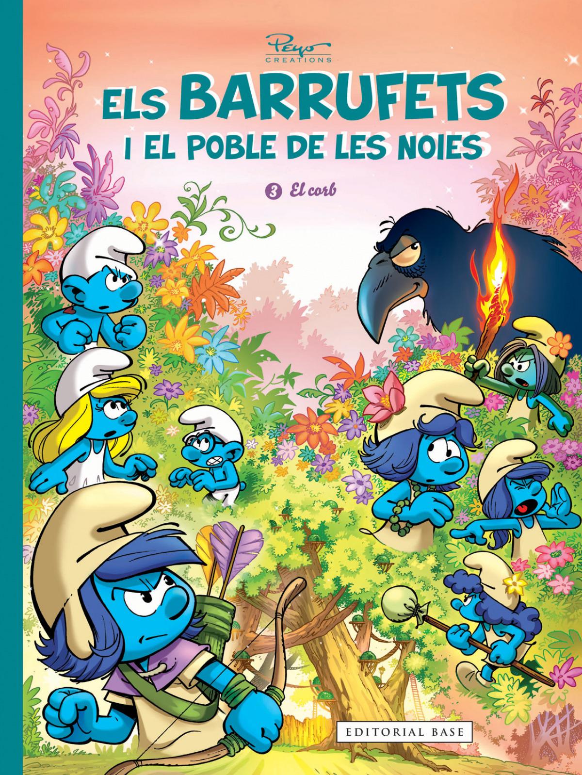 Els Barrufets i el Poble de les Noies. 3 El corb