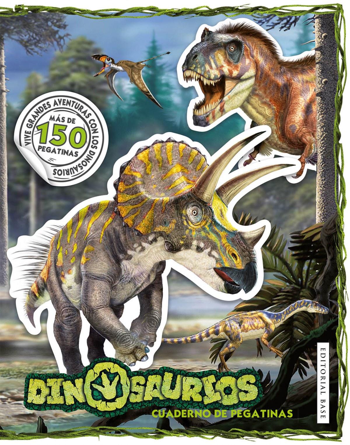Dinosaurios. Cuaderno de pegatinas