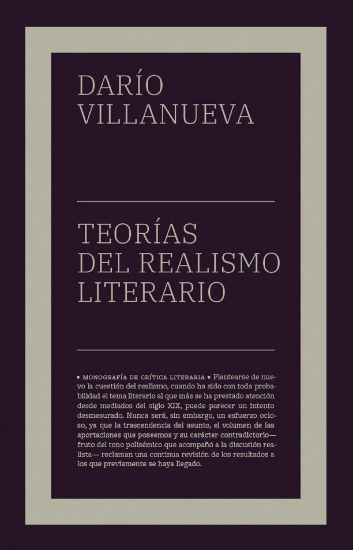 Teorías del realismo literario (NE)
