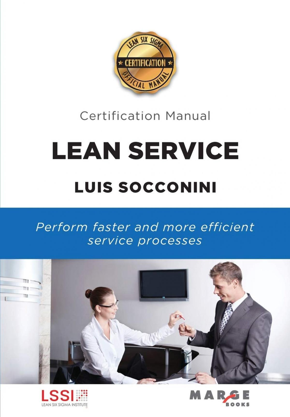 Lean Service. Certification Manual